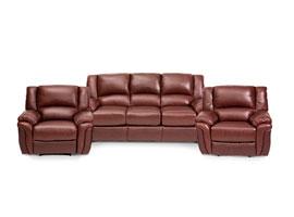 Комплекты кожаной мебели