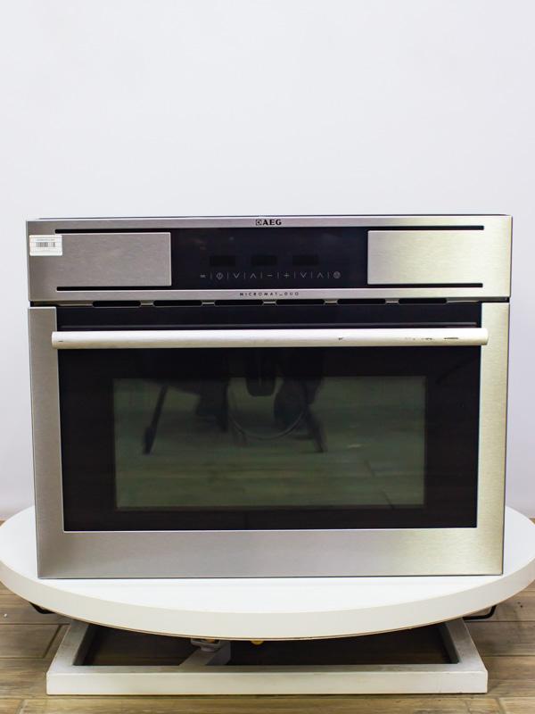Микроволновая печь встраиваемая AEG MCD3881E m Б/у