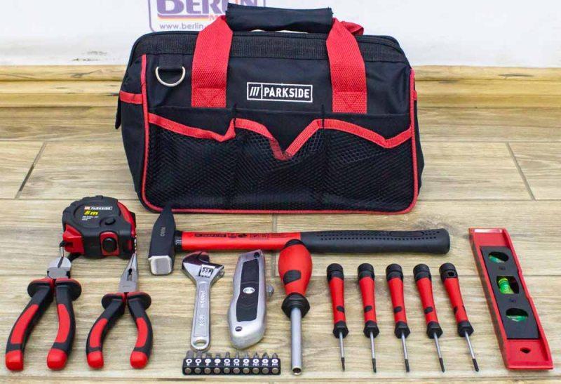 Набор инструментов Parkside HG04540 23 предмета