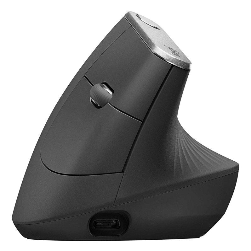 Компьютерная мышь беспорводная вертикальная Logitech MX Vertical 910005448