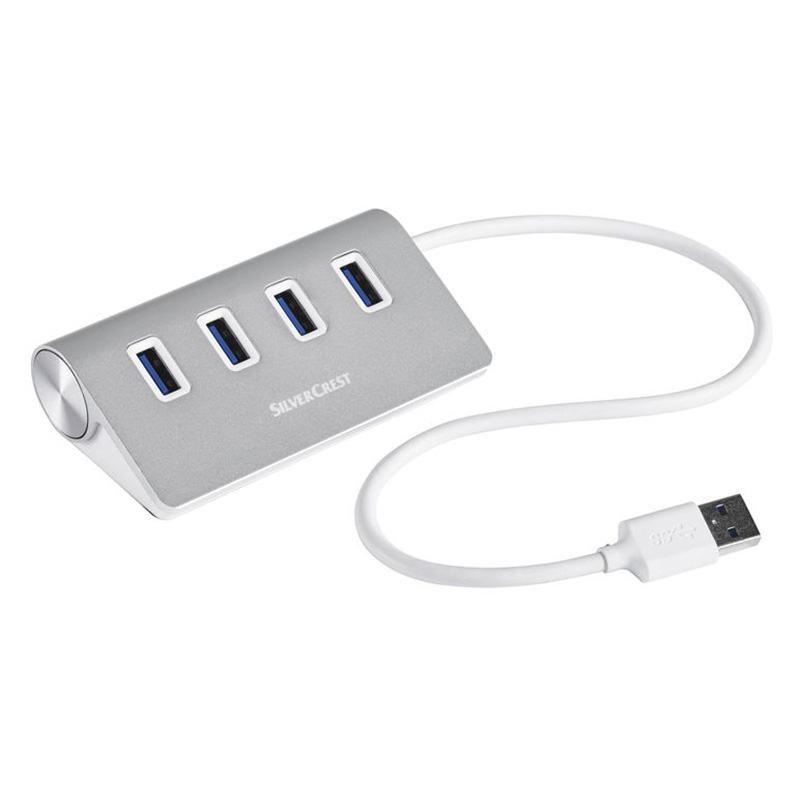 Флеш Хаб SilverCrest USB Hub SUHL 4 A1 - 1