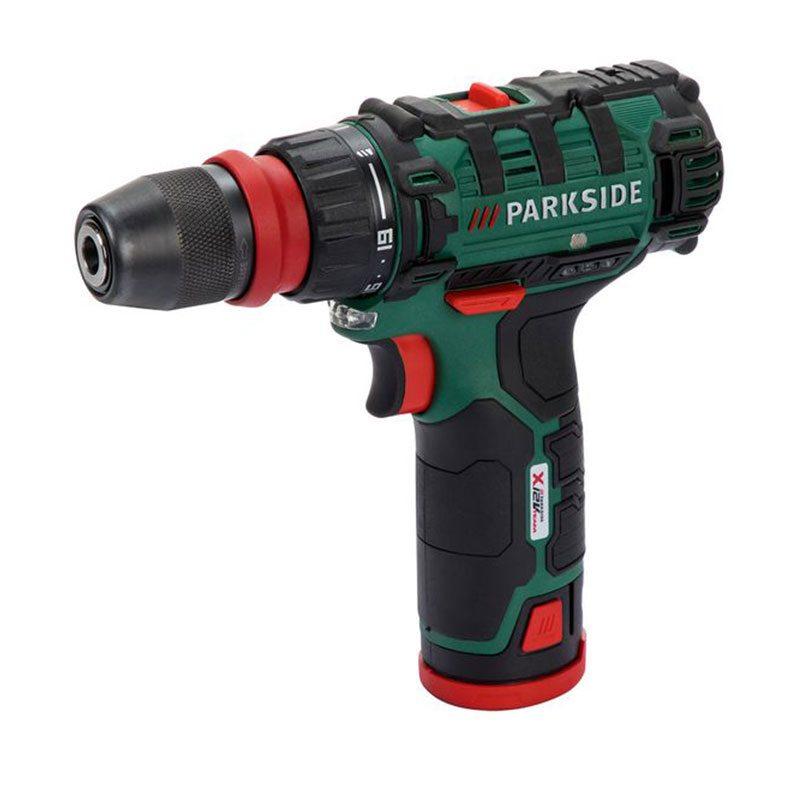Дрель шуруповерт аккумуляторная Parkside PBSA 12 D3