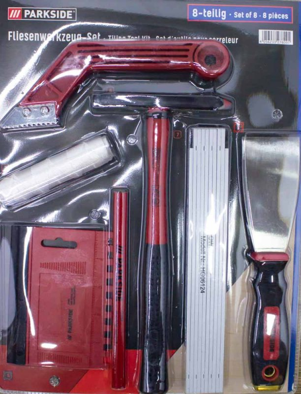 Набор инструментов Parkside HG06124 8 предметов