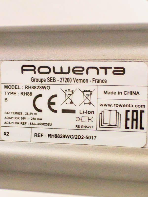 Пылесос вертикальный Rowenta RH8828WO Air Force Extreme