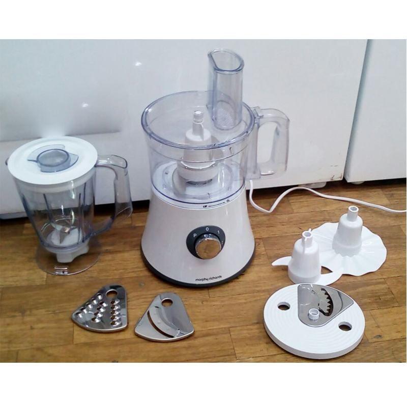 Кухонный процессор Morphy richards  401011 500 Вт  Белый
