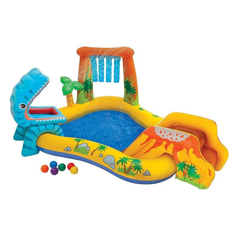 Надувной бассейн Intex Dinoland Play Centre