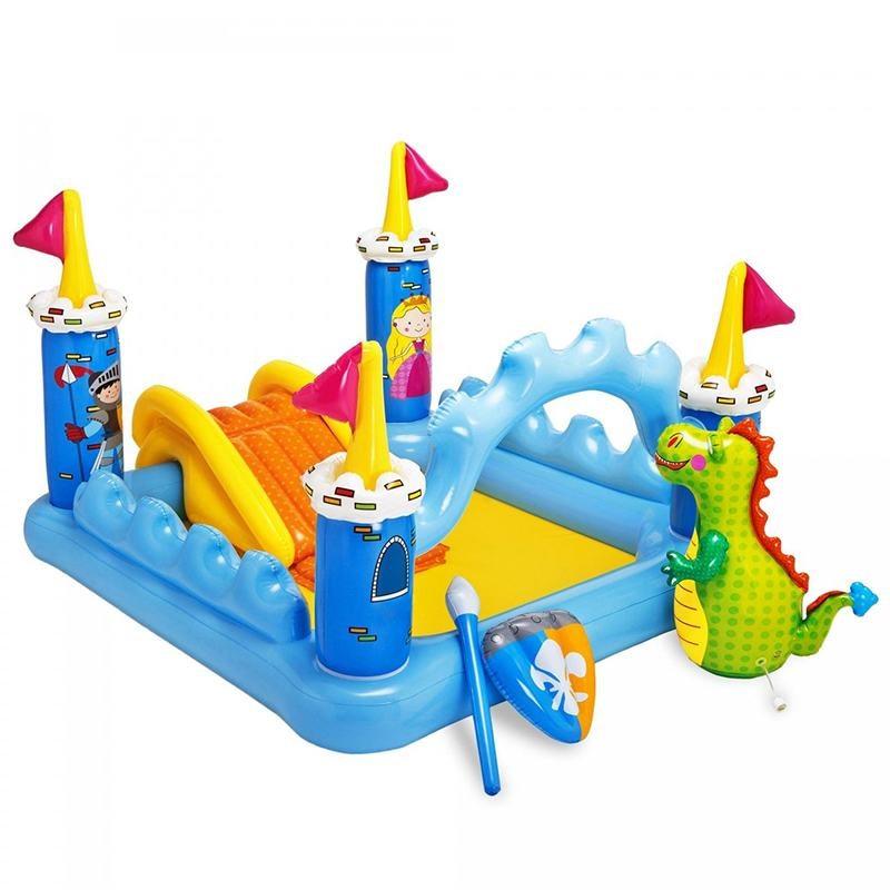 Надувной бассейн Intex Fantasy Castle Play Center