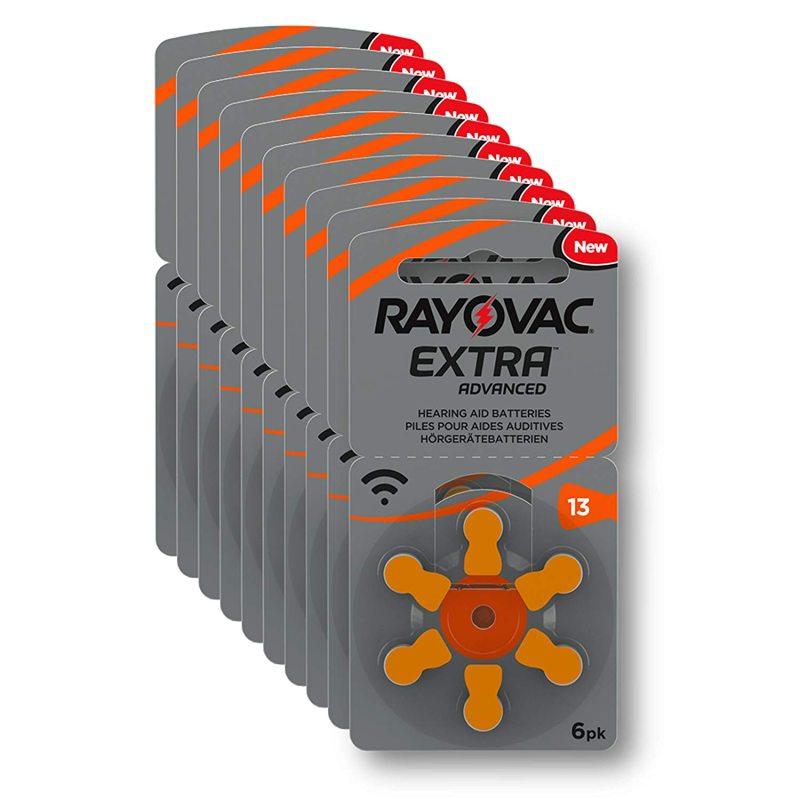 Батарейки для слухового аппарата Rayovac Extra Advanced Zink