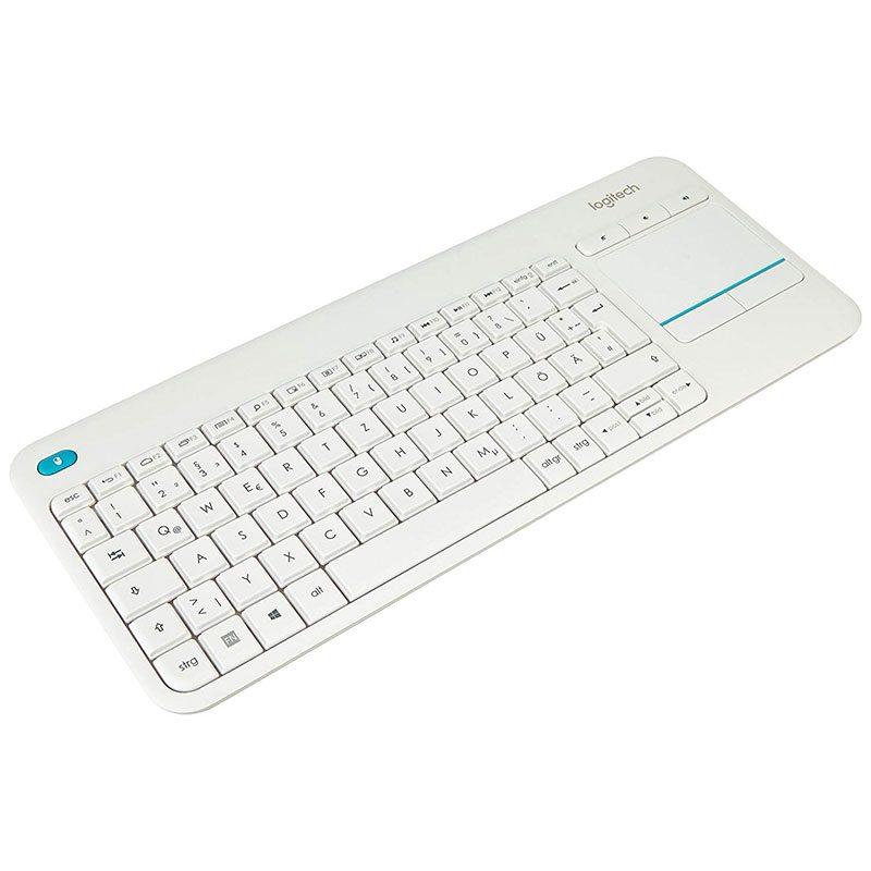 Клавиатура беспроводная Logitech K400 Plus 920-007128 новое LPNHE324683669 35ф - 1