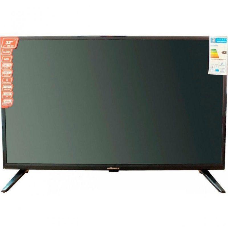 Телевизор 32 Grunhelm GTV32S02T2 32HD01T2 SMART HD