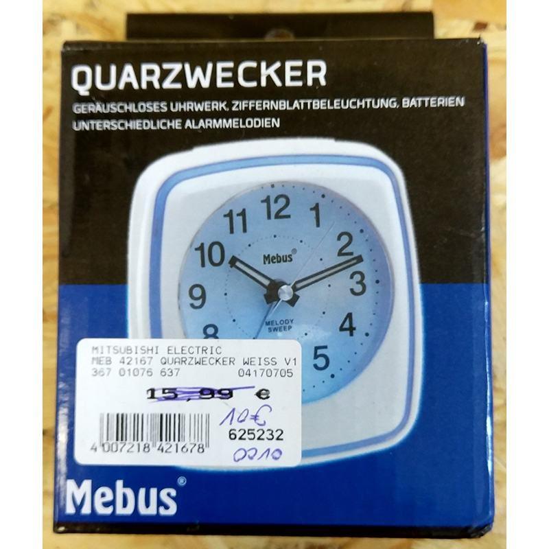 Часы кварцевые mebus