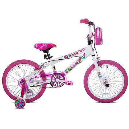 Детский велосипед 18 Kent Pease детский белый хром