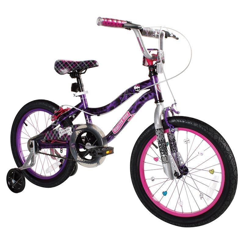 Велосипед Monster High