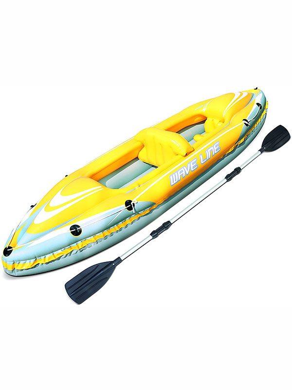 Лодка Kayak Bestway 65020 желтая