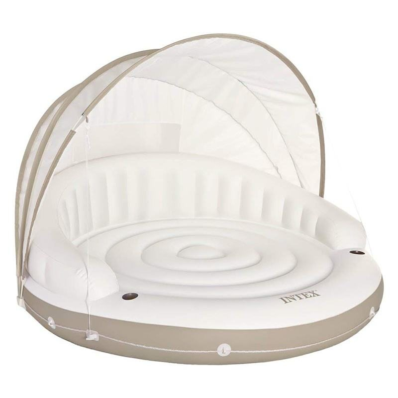 Надувной плот Intex Canopy Island Inflatable Lounge
