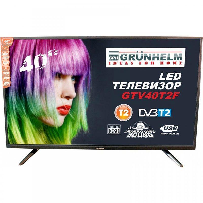 Телевизор 40 Grunhelm GTV40T2F FULL HD LED
