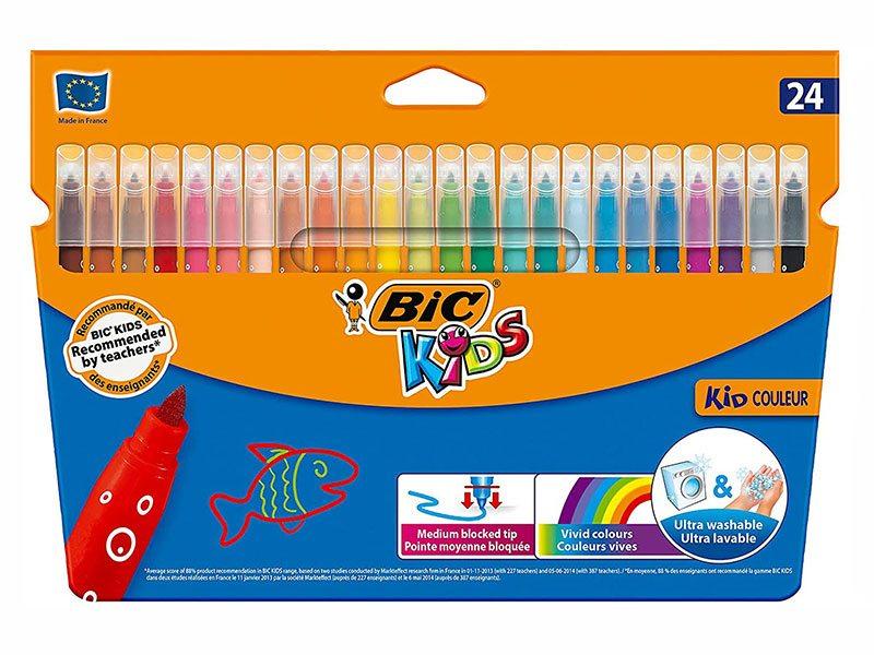 Набор фломастеров BIC Kids Kid Couleur 23шт