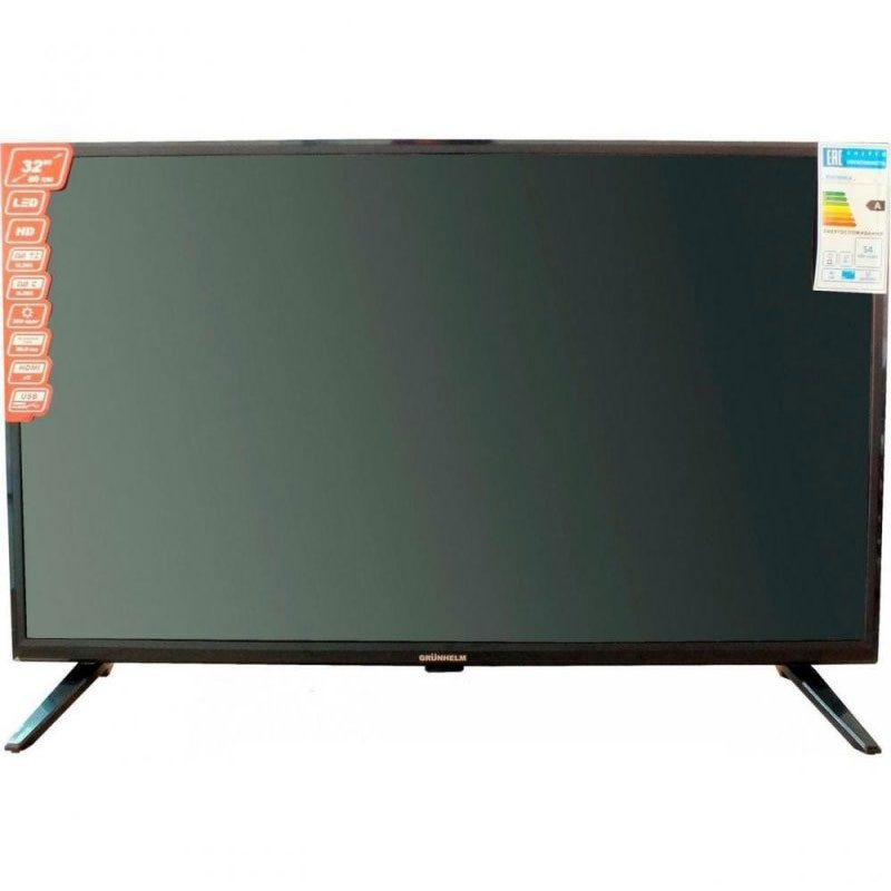 Телевизор 32 Grunhelm GTV32HD01T2 LED HD