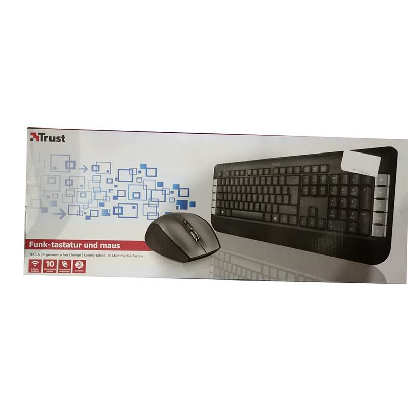 Клавиатура +мышь Trust 18042