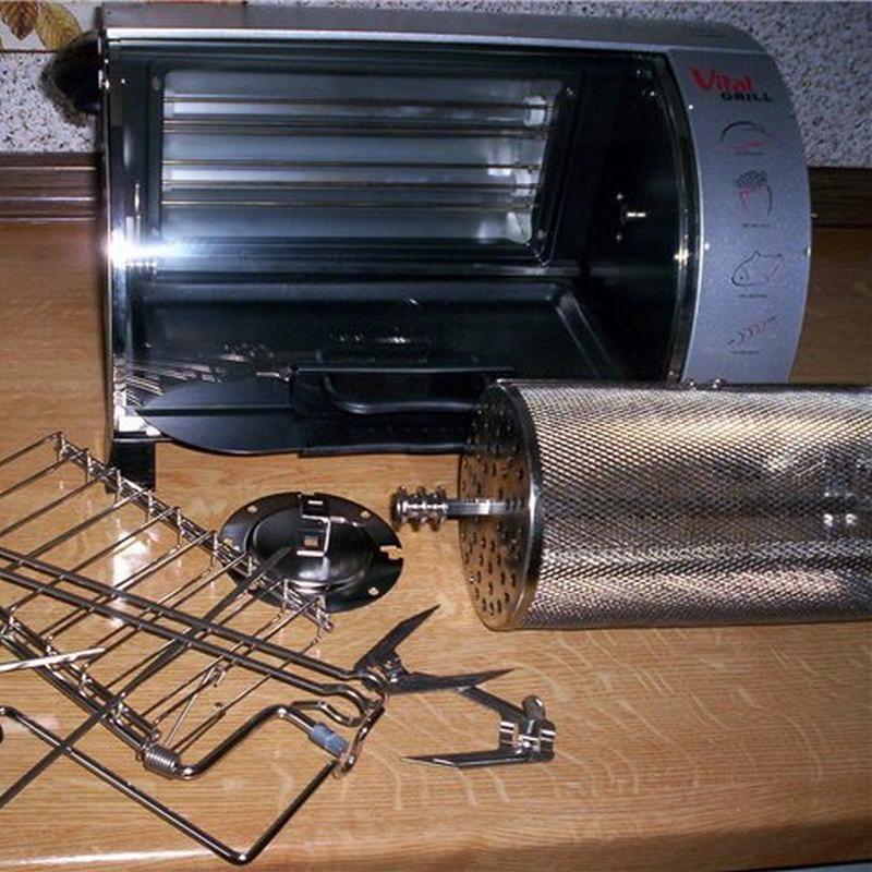 Мини-печь VitalGrill PMX 2101 G