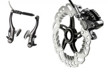 V-brake или дисковые тормоза