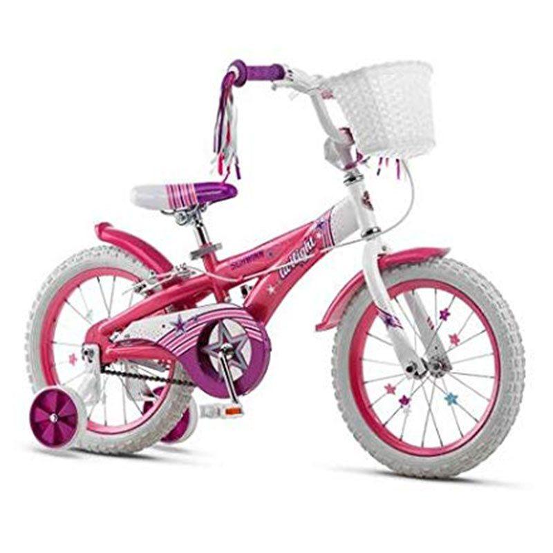 Велосипед 18 Schwinn Twilight детский розовый хром