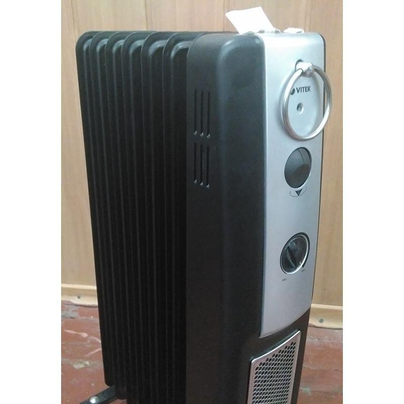 Масляный радиатор Vitek VT-2101 bk