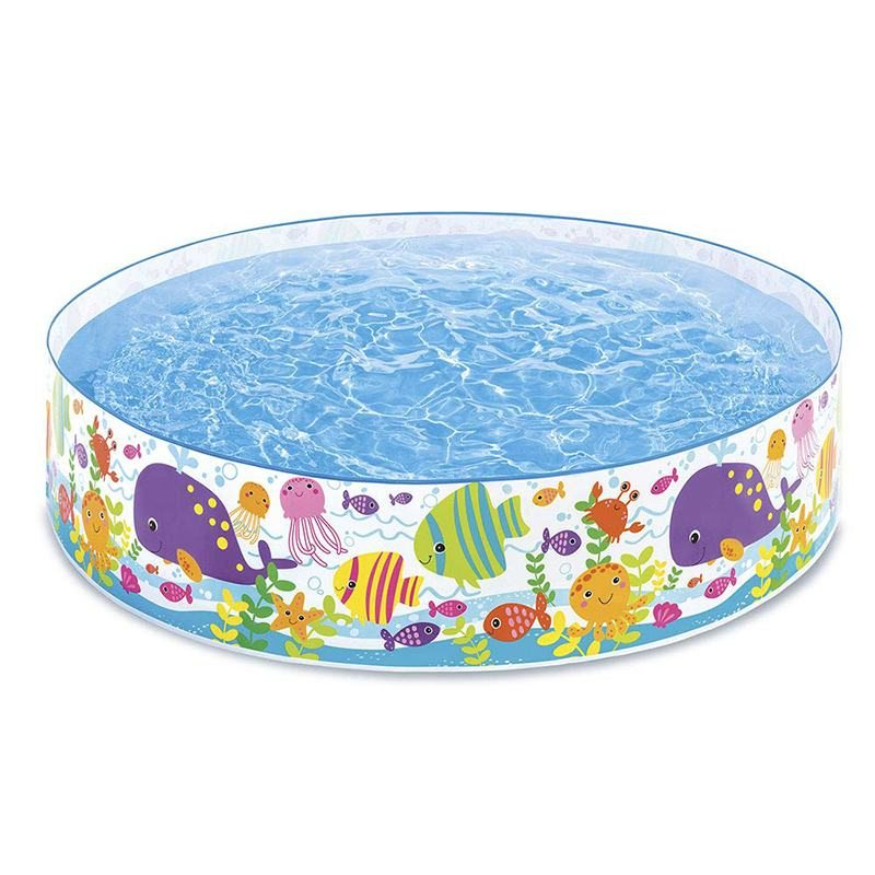 Каркасный бассейн Intex 6 Ft Ocean Play Snapset Pool